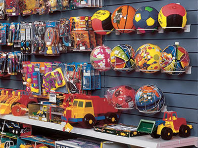 gondole magasin agencement de gondole modulaire pour les jouets. Black Bedroom Furniture Sets. Home Design Ideas
