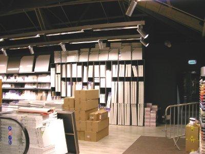 0521e215e2464b Gondole magasin pour le Loisirs Créatifs, gondoles modulaire